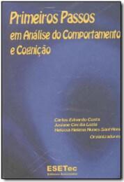Capa do livro primeiros passos em análise do comportamento cognição vol. 1