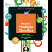 Capa do livro Manual produtacao cientifica
